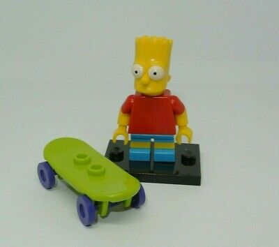 LEGO Collectible : Bart simpson - Minifig figurine personnage - set 71005 sim008