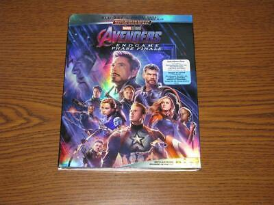 Avengers: Endgame (Blu-ray,  2019, 2-Disc Set, No Digital Copy) with Slip Cover
