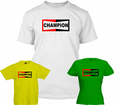 Champion T Shirt Once Upon A Time In Hollywood Brad Pitt Fathers Day , Dad ,