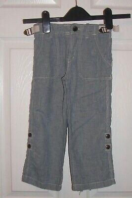 Gap Boys Linen  Trousers  Age 4 Years