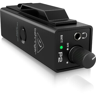 Behringer P2 - Ultra-Compact Personal In-Ear Monitor Amplifier