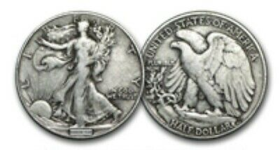 Walking Liberty Half Dollars (1916-1947) 90% Silver