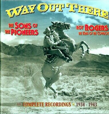 Way Out There - 6 DISC SET - Sons Of The Pioneers/Roy Rogers (CD New)