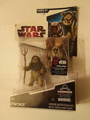STAR WARS Legacy Collection . EWOKS  Nho'Apakk & Paploo includes 1 Droid part .