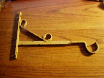 Plant Hook Bird Cage Hanger old vintage Hand Made Wrought iron