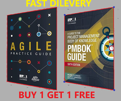 PMI PMBOK Guide 6th Edition 2018 + Agile Practice Guide - 🔥 P.D.F High Quality