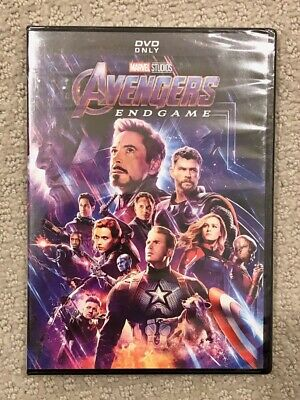 Avengers Endgame DVD Brand New Marvel Film Rated PG-13 Free Shipping