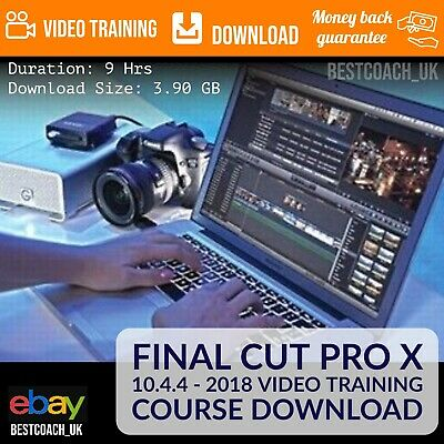 Final Cut Pro X 10.4.4 2018  (9 Hours) Video Training Course Download