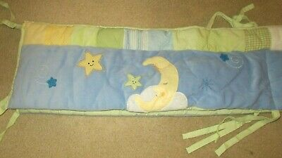 Lambs & Ivy Goodnight Moon / Stars Crib Bumper