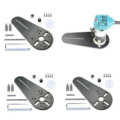 Universal Circle Cutting Jig Electric Trimmer Router Woodworking Milling Groove.