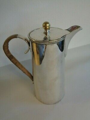 Silver Plate Antique Hot Water Jug
