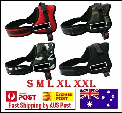 New Strong Adjustable Pet Dog Harness Puppy Dogs Harnesses S, M, L, XL Red&Black