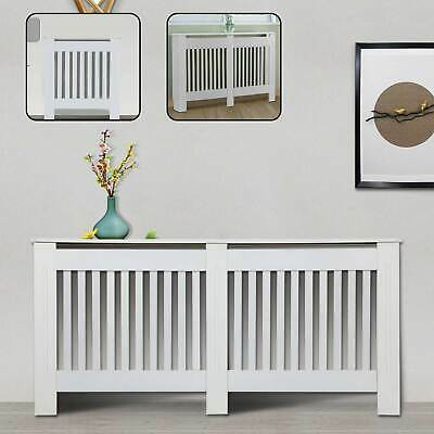 Radiator Covers Modern White Cabinet Slatted Grill Wood Furniture Traditional