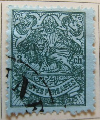A6P39F94 Middle East 1907-09 3c used