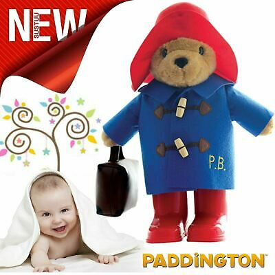 Paddington Classic Baby Bear with Boots & Suitcase¦Iconic classic Design¦34cmToy