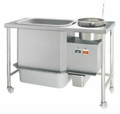 Commercial Infernus Breading Table for Fried Chicken, Free Delivery!