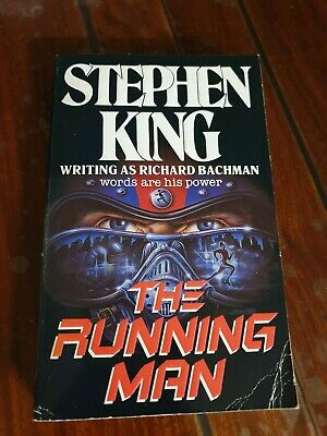 Rare Cover ~ Running Man Stephen KING ~ Rare & Collectable Book ~ Cover ~ 1993
