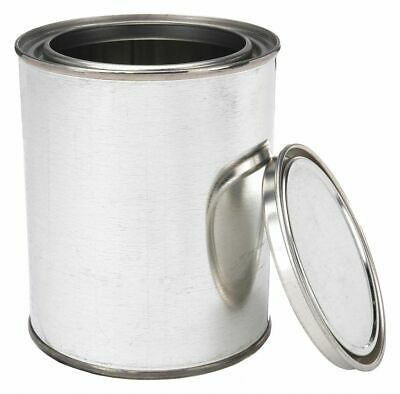 Qorpak Metal,  Lab Paint Can,  8 oz.,  PK 48  Includes Triple Tite Lid and