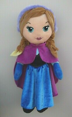 "Disney Princess Frozen Huge 24"" ANNA Soft Plush Toy"