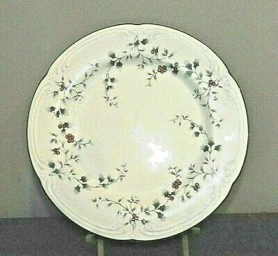 """Pfaltzgraff WINTERBERRY Dinner Plate Christmas Holly Red Berries 10"""""""