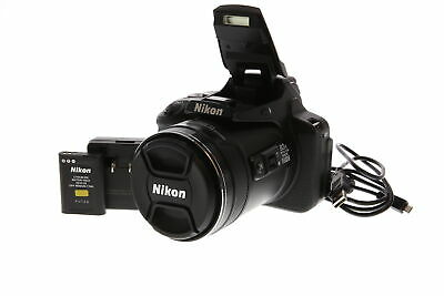 Nikon Coolpix P900 Black Digital Camera {16 M/P}