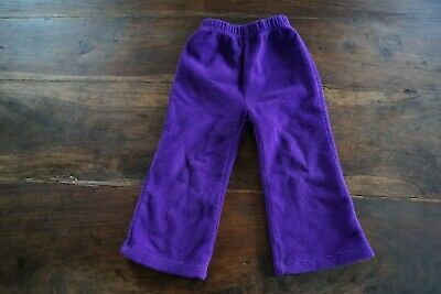 Jo Jo Maman Bebe purple winter fleece trousers age 2-3