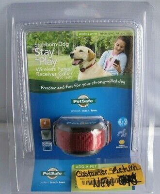 PetSafe Stubborn Dog Stay and Play Wireless Fence Receiver Collar PIF00-13672