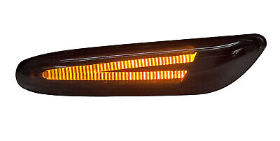 Bmw E81,E82,E87,E88,E90,E91,E93,E60,E61 - Pair Of Depo Smoked Led Side Repeaters
