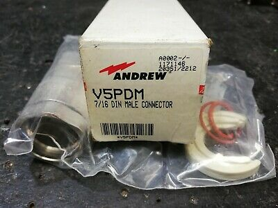 ANDREW 7/16 V5PDM Connector