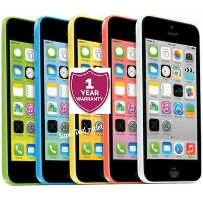 APPLE iPHONE 5C 8GB/16GB/32GB - UNLOCKED VARIOUS COLOR+WARRANTY