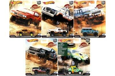 Hot Wheels 2019 Car Culture Desert Rally - Set Of 5 Fpy86-K  Free Shipping