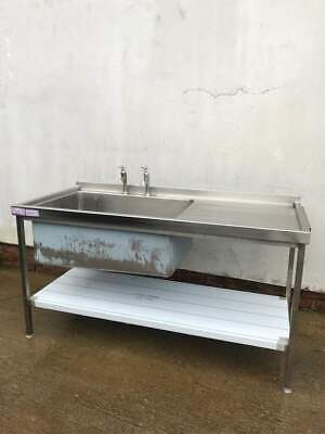 Food production/ Banqueting Commercial Large Bowl Sink (1700 x 770mm)