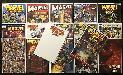 Marvel Comics #1000 (2019) Set of 17 (Cover A + 16 Variant Covers) [NM]