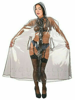 Regencape PVC Cape Poncho Mantel Raincoat Regenmantel Trenchcoat Fetish Latex