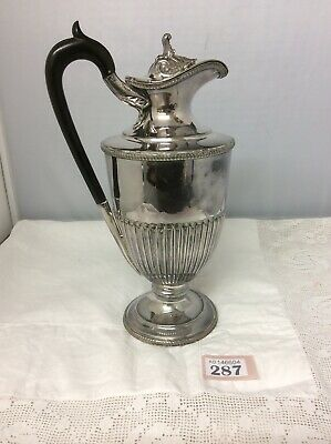 A Fine 19thC Silver Plated Wine Ewer / Jug