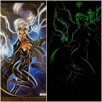 Nycc 2019 Exclusive Powers Of X #5 J. SCOTT CAMPBELL glow In The Dark Variant