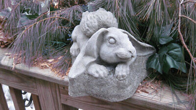 Rabbit with Angel Wings Statue