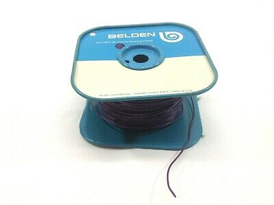 Belden Purple 18AWG Wire Spool 4 lbs