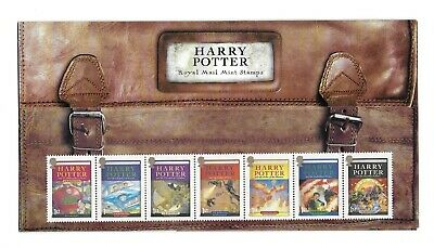 2007 GB Harry Potter Book Covers+ Includes MS2757 Presentation Pack