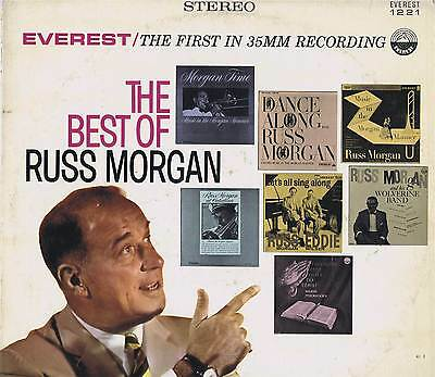 THE BEST OF RUSS MORGAN Vinyl 33 Music LP Record Album VG+ Stereo Everest 1221