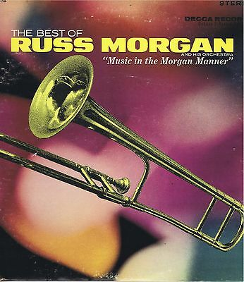 THE BEST OF RUSS MORGAN 2-33 LP Set vinyl Records music album EX Stereo 1965
