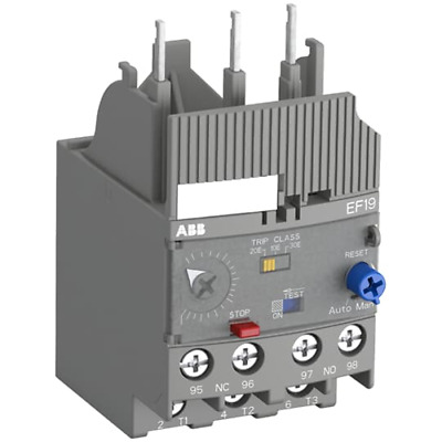 Abb EF19-2, 7 Relay 'Thermal Electronic 0,80 -2, 70 CL 10-20-30 EF192V7