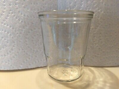 Vintage Coffee Catch Cup Glass Jar fits Vintage Arcade Wall Mount Grinders