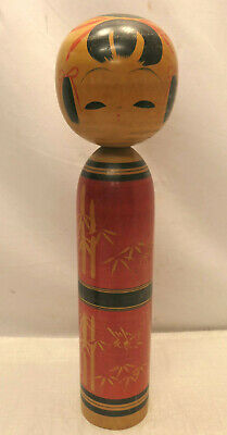 Large Kokeshi Traditional Style Wooden Japanese Doll Vintage 54cm  #573