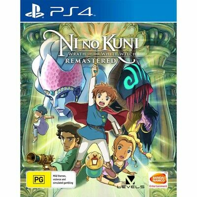 Ni No Kuni: Wrath of the White Witch Remastered - PlayStation 4 - BRAND NEW