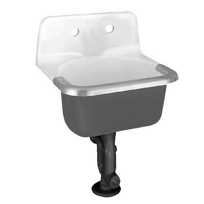 American Standard 7692.008 Lakewell Wall Mounted Cast Iron - White