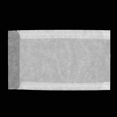 Glassine Envelopes Softener Chlorine & Acid Free Pack of 100 85X132 mm Side Open
