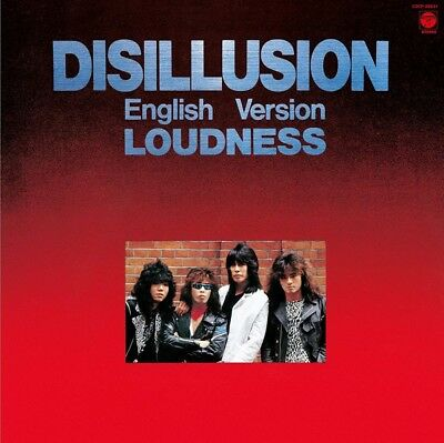 Loudness-Disillusion Englisch Version-Japan CD C94