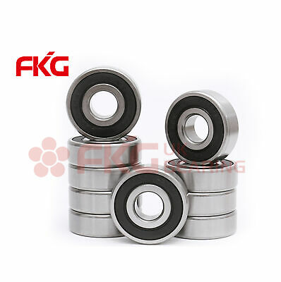 10 Pcs Premium 6302 2RS ABEC3 Rubber Sealed Deep Groove Ball Bearing 15x42x13mm