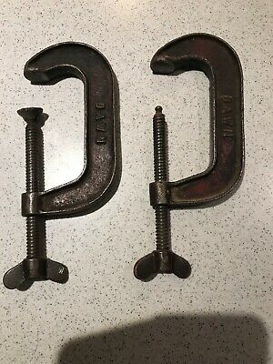 Vintage Dawn 4 Inch G Clamp made in Australia